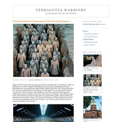 Terracotta Warrior Army of Emperor Qin Shi Huang Di