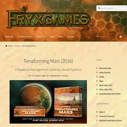 Terraforming Mars – FryxGames