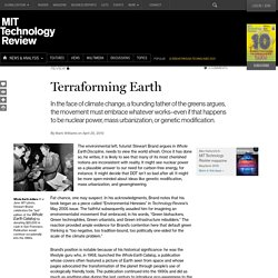Terraforming Earth