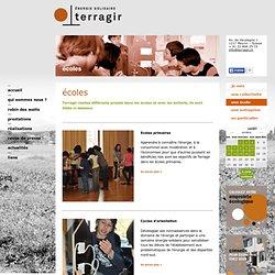 écoles - Terragir - énergie solidaire