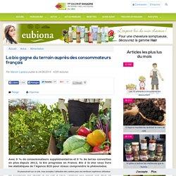 La bio gagne du terrain auprès des consommateurs français