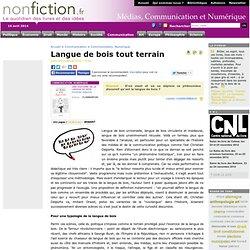 Langue de bois tout terrain - Nonfiction.fr le portail des livre
