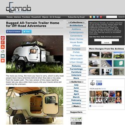 Rugged All-Terrain Trailer Home for Off-Road Adventures