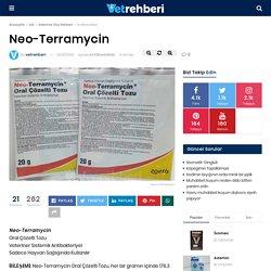 Neo-Terramycin - Antibiyotikler - VetRehberi