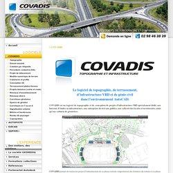 COVADIS : logiciel de topographie, terrassement, infrastructure VRD et génie civil AutoCAD