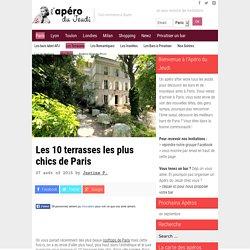 Les 10 terrasses les plus chics de Paris