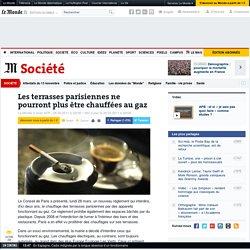 Les terrasses parisiennes ne pourront plus être chauffées au gaz