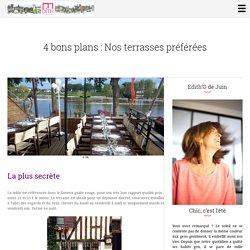 4 bons plans : Nos terrasses préférées - Edith Magazine