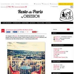 30 terrasses pour profiter de Paris cet été paris