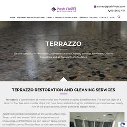 Get terrazzo Restoration Services in London