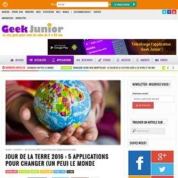 Jour de la Terre 2016 : 5 applications pour changer (un peu) le monde