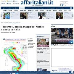 Il rischio di terremoti in Italia