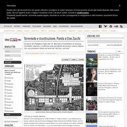 Terremoto e ricostruzione. Parola a Cino Zucchi