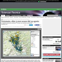 Terremoto, oltre 5.000 scosse dal 24 agosto - Terra e Poli - Scienza&Tecnica