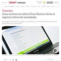 Gana terreno en todo el Gran Buenos Aires el registro online de sociedades - 03/10/2019 - Clarín.com