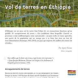Vol de terres en Éthiopie