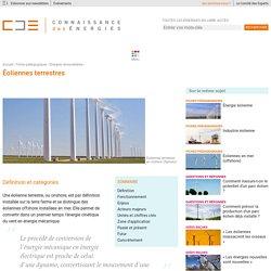 Éoliennes terrestres : fonctionnement, enjeux et acteurs majeurs