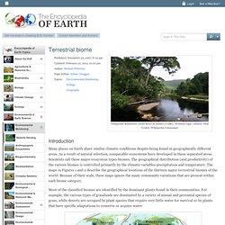 Terrestrial biome