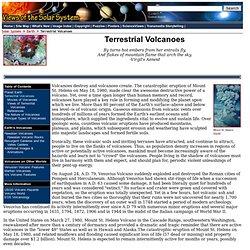 Terrestrial Volcanoes