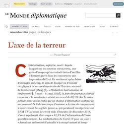 L'axe de la terreur, par Pierre Rimbert (Le Monde diplomatique, novembre 2020)