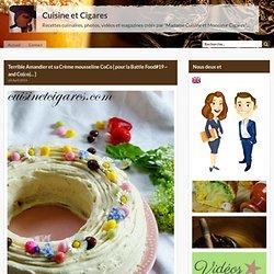 Terrible Amandier et sa Crème mousseline CoCo { pour la Battle Food#19 ~ and Co(co)... }