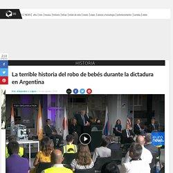 La terrible historia del robo de bebés durante la dictadura en Argentina - Historia