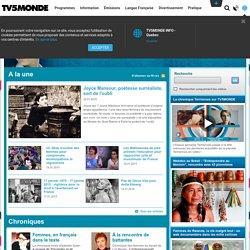 TERRIENNES : Portail sur la condition des femmes dans le monde - TV5monde