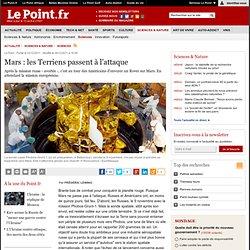 Mars : les Terriens passent à l'attaque