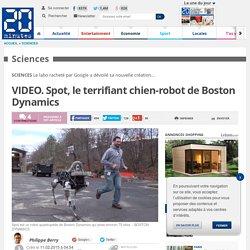 VIDEO. Spot, le terrifiant chien-robot de Boston Dynamics