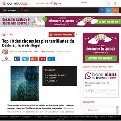 Le Darknet, le web illégal