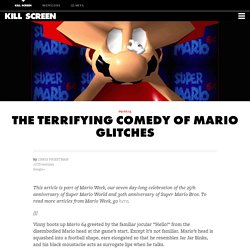 The terrifying comedy of Mario glitches - Kill Screen