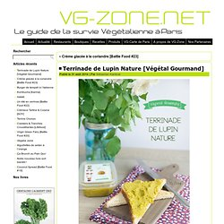 Terrinade de Lupin Nature [Végétal Gourmand] - VG-Zone.netVG-Zone.net