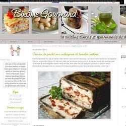 Terrine de poulet aux aubergines et tomates séchées - Binôme Gourmand