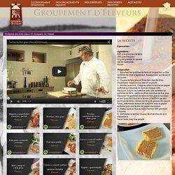 Terrine de foie gras et pommes de terre