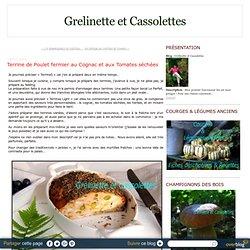 Terrine de Poulet fermier au Cognac et aux Tomates séchées