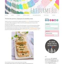 Terrine de saumon, st Jacques et crevettes roses. - La Fourmi Elé