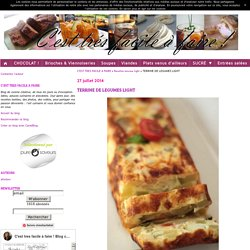 TERRINE DE LEGUMES LIGHT
