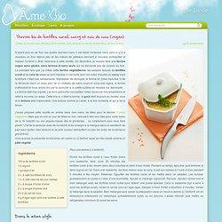 Terrine bio vegan sans gluten, sans lactose et sans oeufs