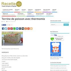 Terrine De Poisson Avec Thermomix