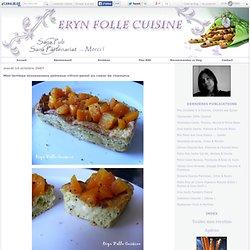 Mini terrines mousseuses poireaux-citron-pavot au coeur de chaource