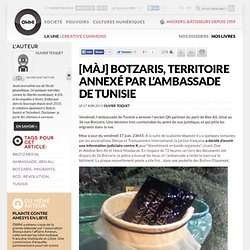 [MàJ] Botzaris, territoire annexé par l'ambassade de Tunisie