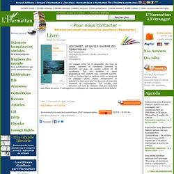 LES INUIT, CE QU'ILS SAVENT DU TERRITOIRE, Béatrice Collignon - livre, ebook, epub