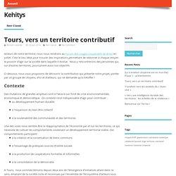 Tours, vers un territoire contributif