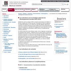 Pour découvrir et suivre les indicateurs français de développement durable