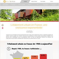 L'étalement urbain en France, une croissance exponentielle