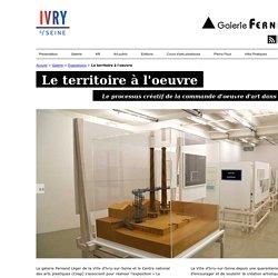 Le territoire à l'oeuvre l'exposition, galerie Fernand Léger, service arts plastiques, Marie d'Ivry-sur-Seine