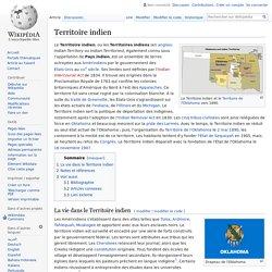 Territoire indien