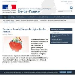 Territoire et population / Les chiffres de la région Île-de-France / Chiffres clés / Portrait de la région / Région et institutions