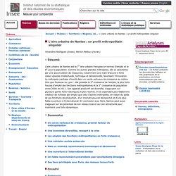 Territoire - L'aire urbaine de Nantes : un profil métropolitain singulier