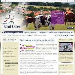 Territoire Numérique Durable / Débat Public / Nous pensons à votre avenir ! / Accueil - Pays de Saint-Omer